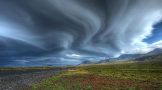 风光摄影天气:多云